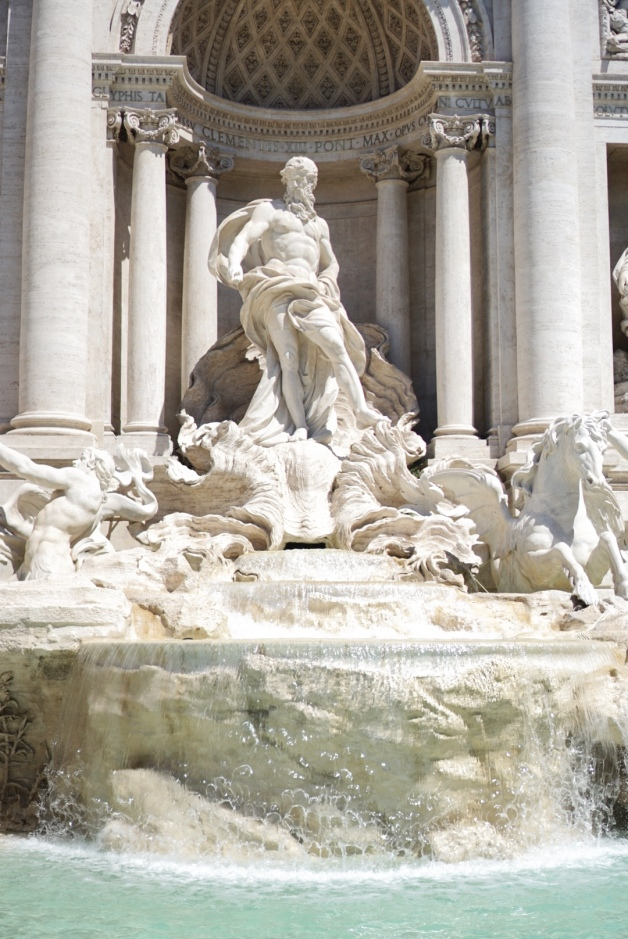 Trevi Fountain - travel - rome - italy - vacation