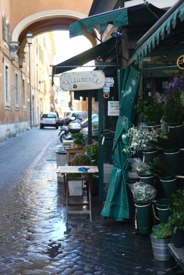 florals - floral shop - italy - rome - vacation - travel - adventure - street