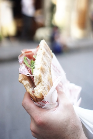 italian - truffle - sandwich - tourist - florence - italy - food -