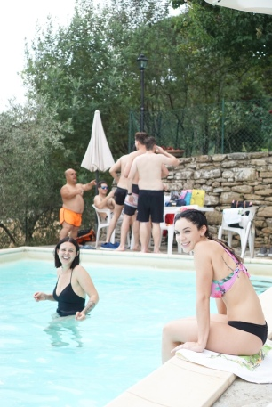 summer - pool party - italy - pergo - tuscany - countryside - travel - explore - destination