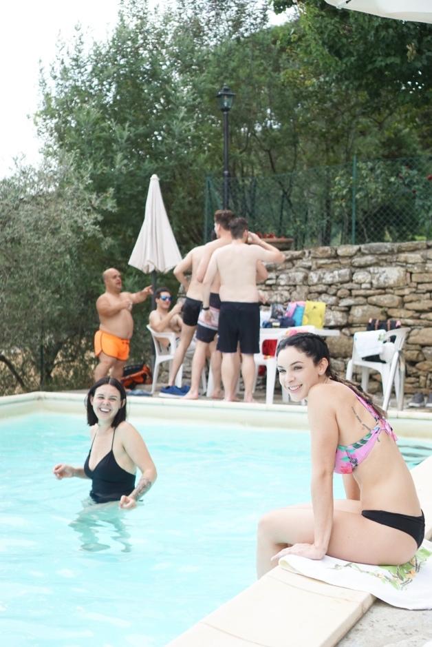 summer - pool party - italy - pergo - tuscany - countryside - travel - explore - destination