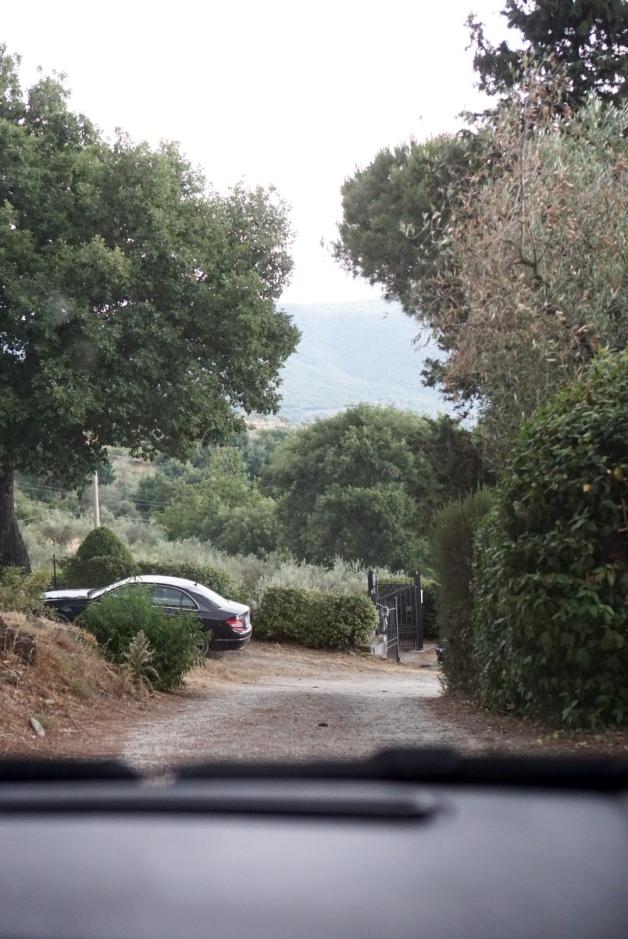 passenger - fiat - italy - pergo - countryside - tuscany - driving - 35mm photograhpy