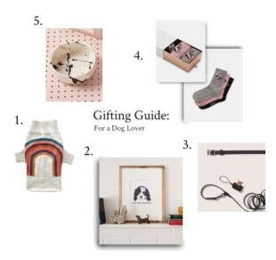 GIFTING GUIDE FOR A DOG LOVER
