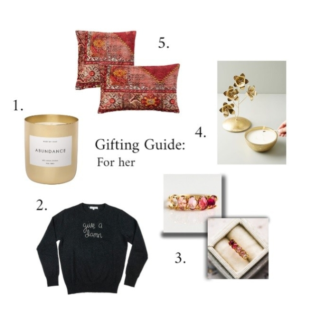 GIFTING GUIDE FOR HER